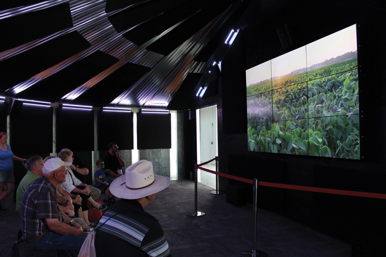 The Grain Bin Theater at Raising Nebraska