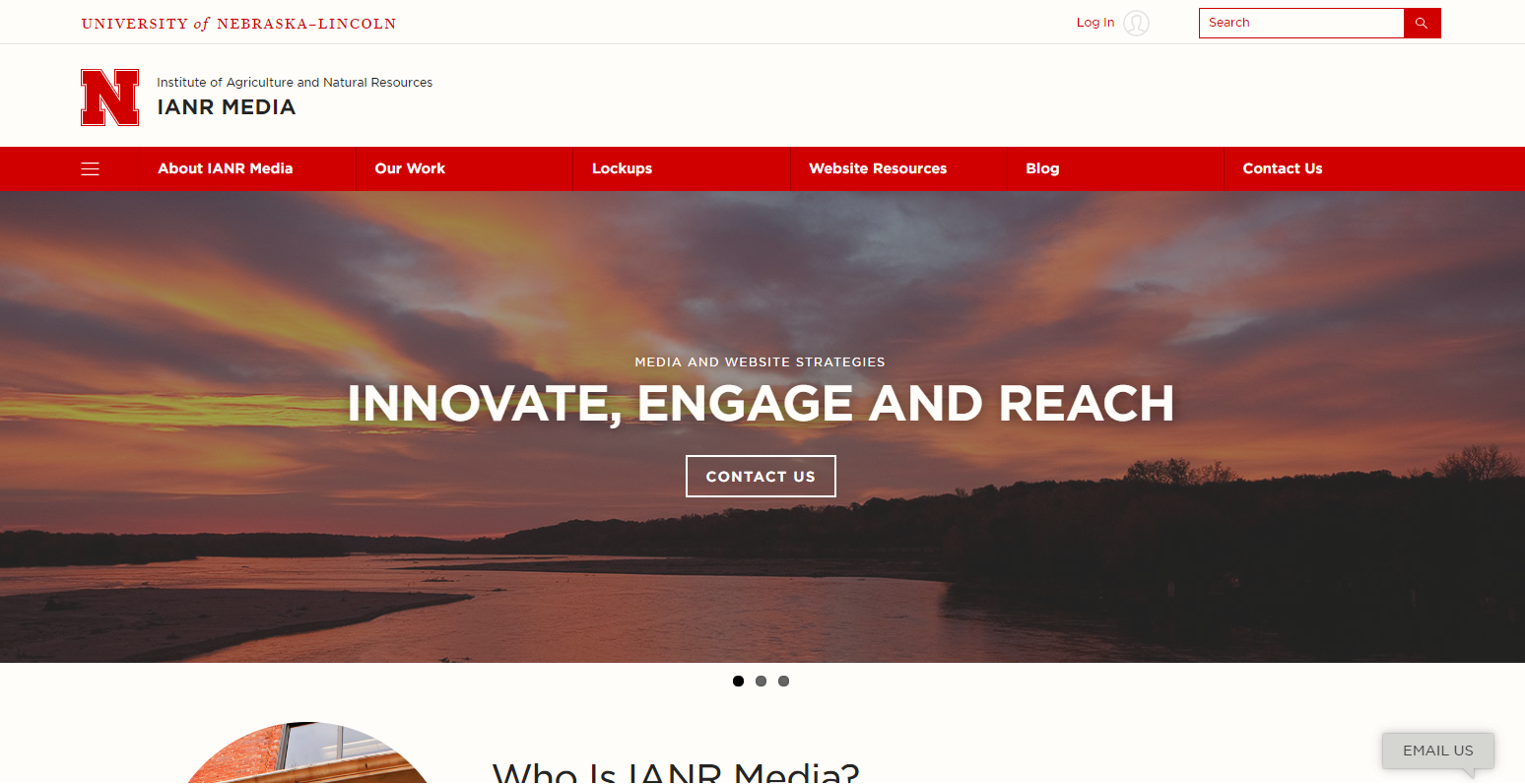 Hover Effects   IANR Media