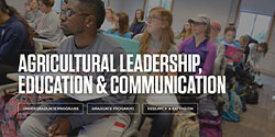 Agricultural Leadership, Education and Communication