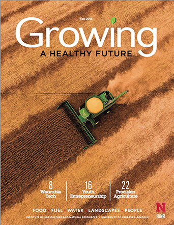 Growing a Healthy Future magazine cover
